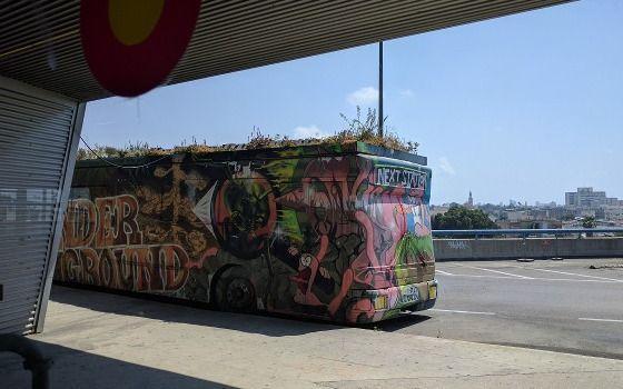 סיור גרפיטי ואמנות רחוב בתחנה המרכזית החדשה