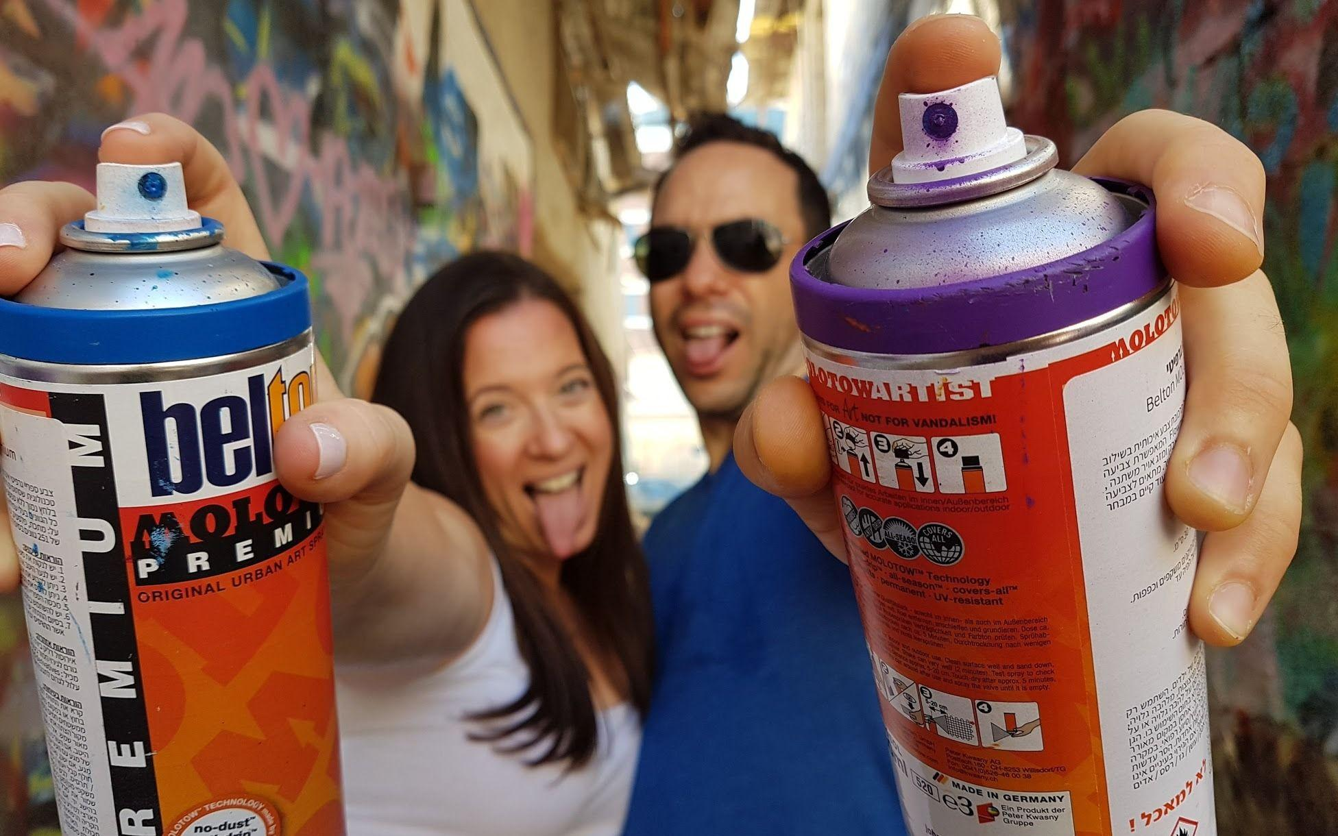 Graffiti-date A pampering activity for couples