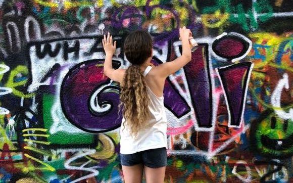 Graffiti tour and graffiti workshop- Gift card