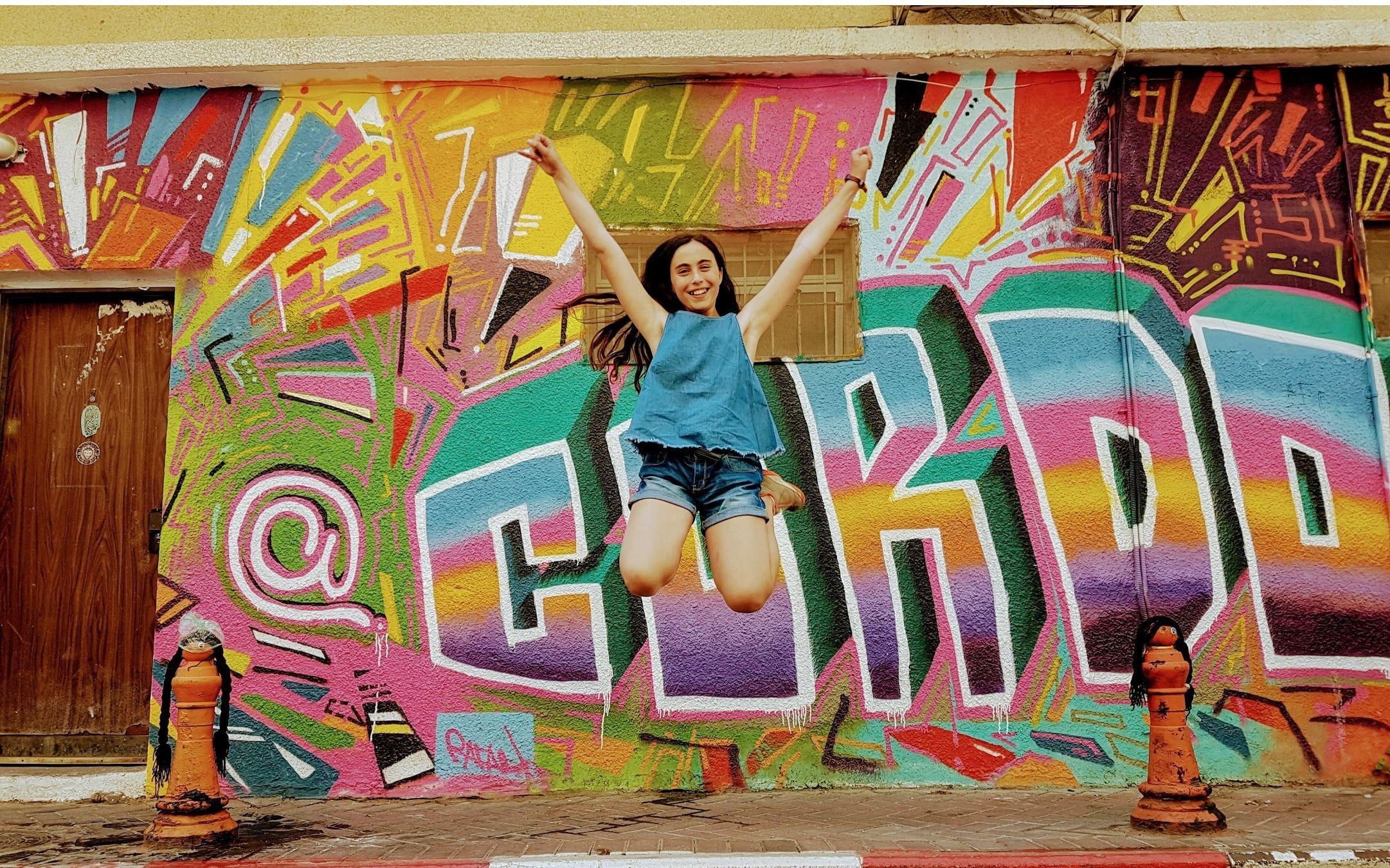 Graffiti Tour in Florentine, Tel Aviv